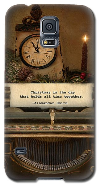 Galaxy S5 Case featuring the photograph Christmas Time by Robin-Lee Vieira