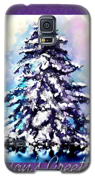 Christmas Tree Galaxy S5 Case by Susan Kinney