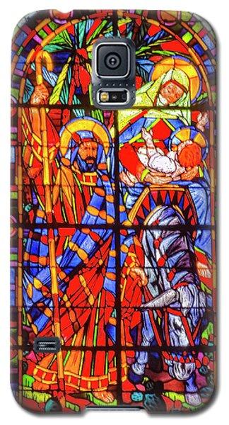 Christmas Window Galaxy S5 Case