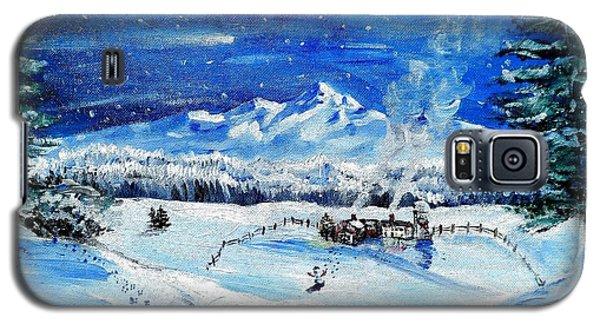 Christmas Wonderland Galaxy S5 Case by Shana Rowe Jackson
