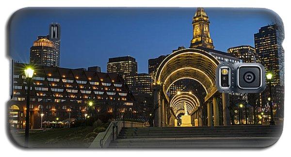 Christopher Columbus Park Boston Ma Trellis Custom House Galaxy S5 Case