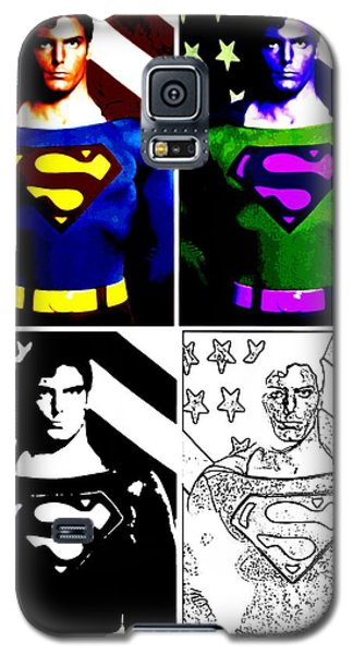 Christopher Reeve - Our Man Of Steel 1952 To 2004 Galaxy S5 Case by Saad Hasnain