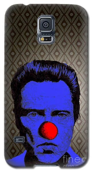 Galaxy S5 Case featuring the drawing Christopher Walken 1 by Jason Tricktop Matthews