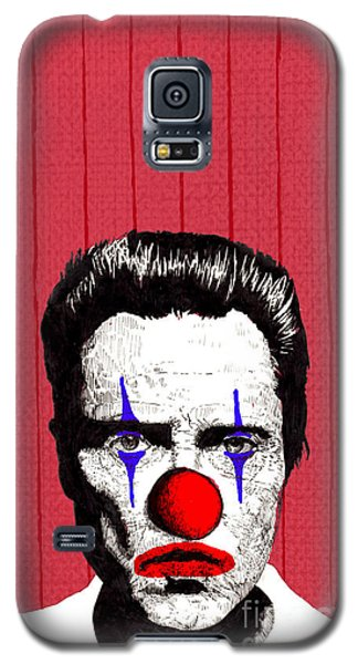 Galaxy S5 Case featuring the drawing Christopher Walken 2 by Jason Tricktop Matthews