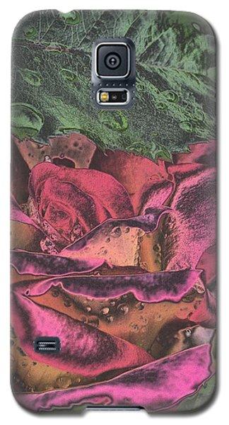 Chrome Rose 64182 Galaxy S5 Case
