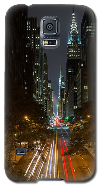 Chrysler Building At Night Galaxy S5 Case