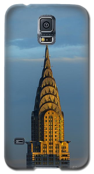 City Sunset Galaxy S5 Case - Chrysler Building In The Evening Light by Diane Diederich