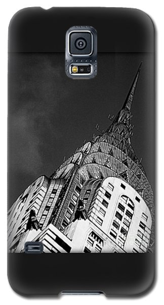 Chrysler Building's Apex Galaxy S5 Case by James Aiken