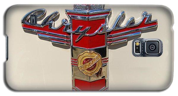Chrysler Hood Logo Galaxy S5 Case by Larry Keahey