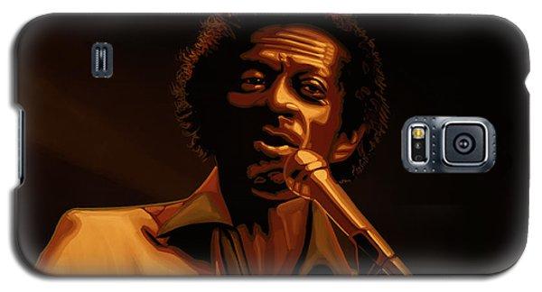 Chuck Berry Gold Galaxy S5 Case by Paul Meijering