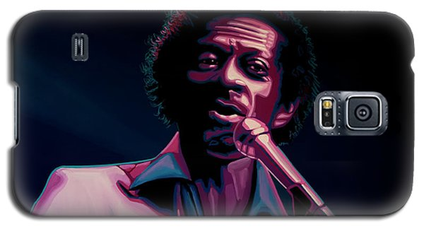 Rhythm And Blues Galaxy S5 Case - Chuck Berry by Paul Meijering