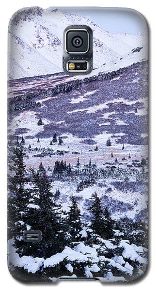 Chugach In Alpenglow Galaxy S5 Case