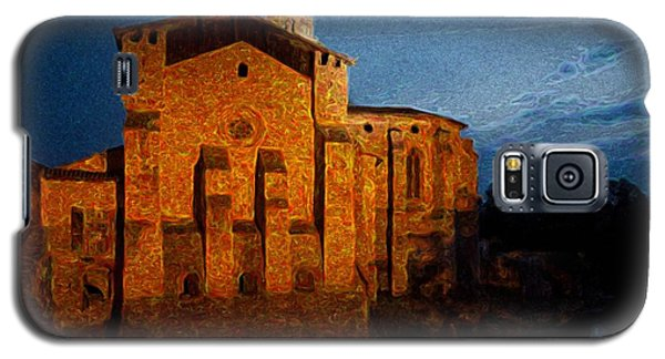 Galaxy S5 Case featuring the photograph Church 1 by Jean Bernard Roussilhe