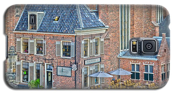 Church Cafe In Groningen Galaxy S5 Case by Frans Blok