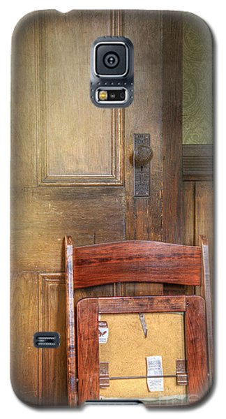 Galaxy S5 Case featuring the photograph Church Chair by Craig J Satterlee