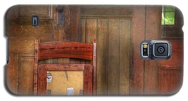 Galaxy S5 Case featuring the photograph Church Chair II by Craig J Satterlee