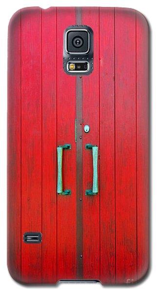 Church Door Galaxy S5 Case by Ethna Gillespie