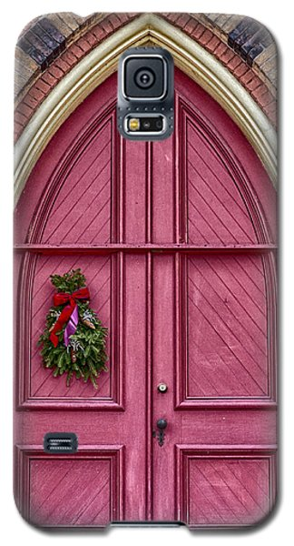 Church Door Galaxy S5 Case