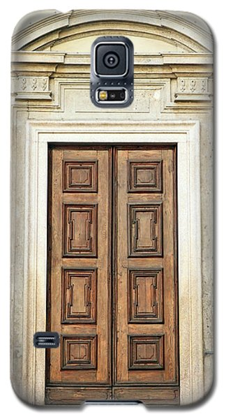 Church Door Galaxy S5 Case by Valentino Visentini