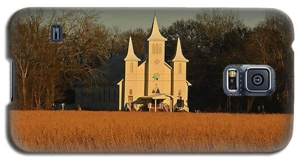 Church In A Field Galaxy S5 Case