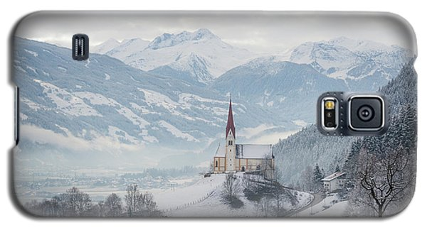 Church In Alpine Zillertal Valley In Winter Galaxy S5 Case