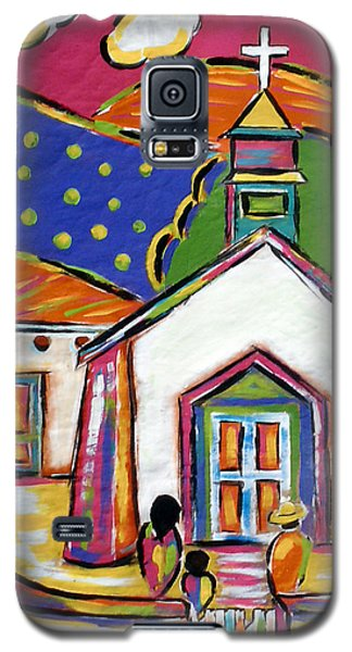 Church In Blanco Galaxy S5 Case
