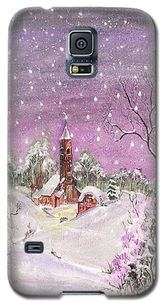 Church In The Snow Galaxy S5 Case