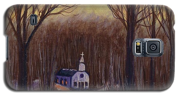 Church In The Woods  Galaxy S5 Case