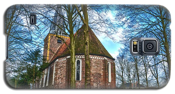 Galaxy S5 Case featuring the photograph Church In Winsum by Frans Blok