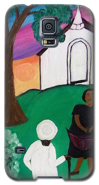 Church Ladies  Galaxy S5 Case by Mildred Chatman