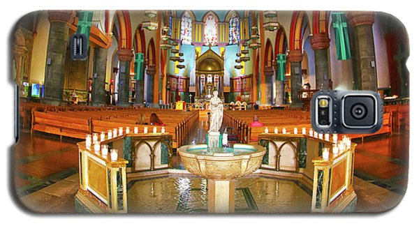 Galaxy S5 Case featuring the photograph Church Of St. Paul The Apostle by Mitch Cat