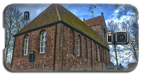 Church On The Mound Of Oostum Galaxy S5 Case by Frans Blok