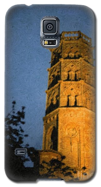 Galaxy S5 Case featuring the photograph Church Steeple by Jean Bernard Roussilhe