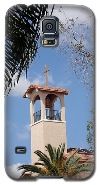 Galaxy S5 Case featuring the photograph Church Steeple by Rosalie Scanlon
