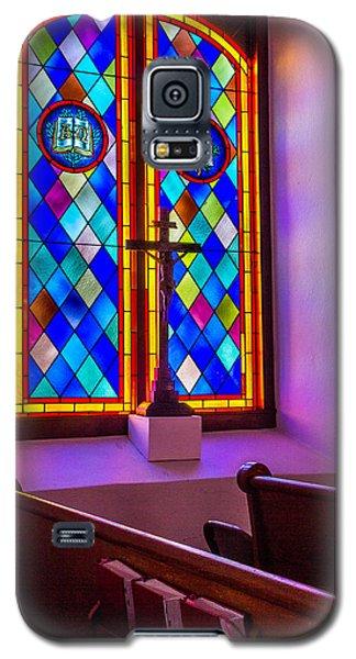 Church Window Art Galaxy S5 Case