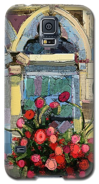 Church Window Galaxy S5 Case by Carrie Joy Byrnes