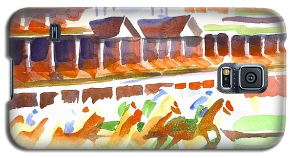 Churchill Downs Watercolor Galaxy S5 Case