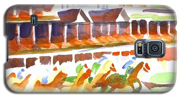 Churchill Downs Watercolor Galaxy S5 Case