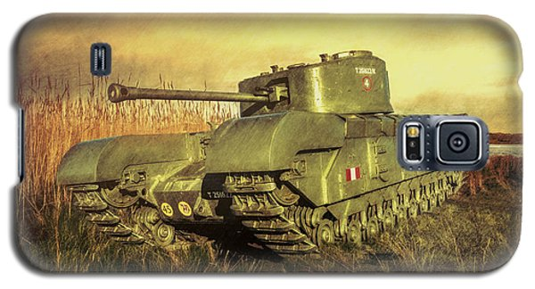 Galaxy S5 Case featuring the photograph Churchill Tank by Roy McPeak