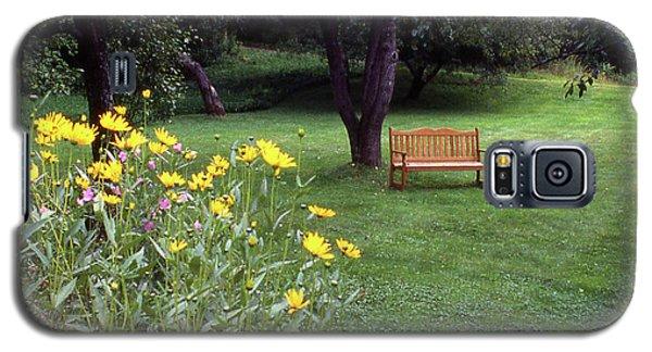 Churchyard Bench - Woodstock, Vermont Galaxy S5 Case
