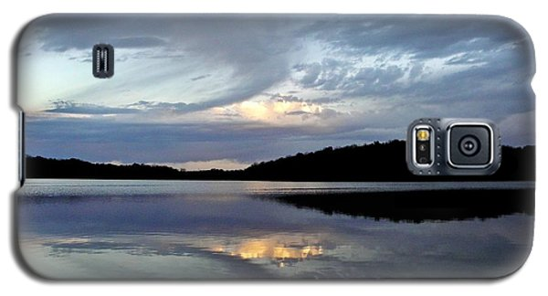 Galaxy S5 Case featuring the photograph Churning Clouds At Sunrise by Chris Berry