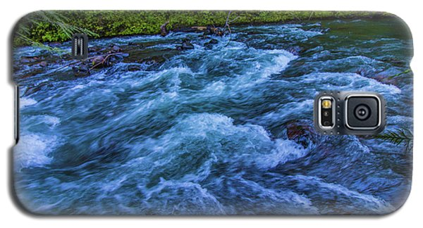 Galaxy S5 Case featuring the photograph Churning Water by Jonny D