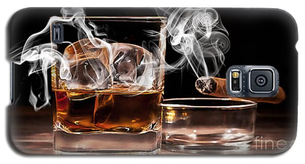 Cigar And Alcohol Collection Galaxy S5 Case