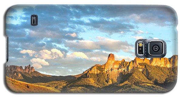 Cimarron Sunset In Autumn Galaxy S5 Case