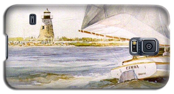 Cimba At Bird Island Light Galaxy S5 Case