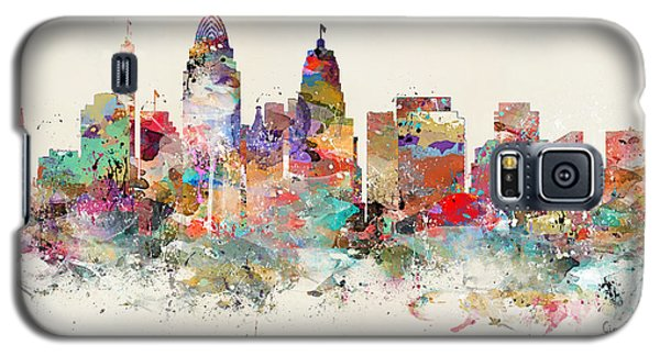 Cincinnati City Skyline Galaxy S5 Case