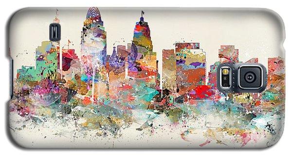 Cincinnati City Skyline Galaxy S5 Case by Bri B