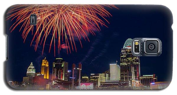 Cincinnati Fireworks Galaxy S5 Case by Scott Meyer