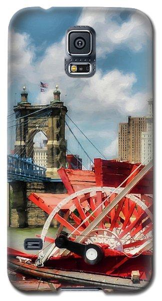 Cincinnati Landmarks 1 Galaxy S5 Case