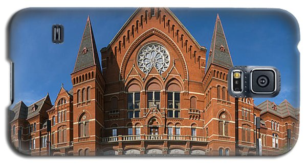 Galaxy S5 Case featuring the photograph Cincinnati Music Hall by Rob Amend